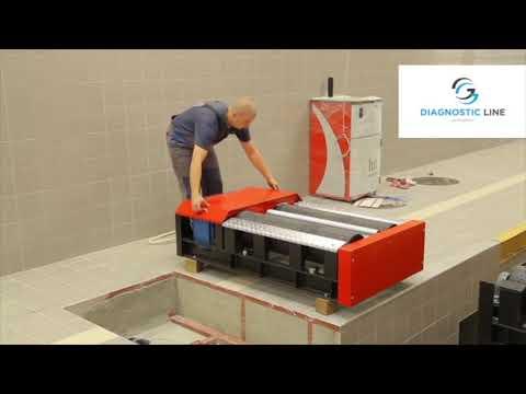 Инсталляция установки и размещения универсальной линии для техосмотра UNIMETAL