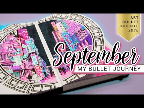 SEPTEMBER Bullet Journal Setup 2020 South Korea Bullet Journey PLAN WITH ME