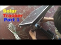 DIY Solar tracker (part 1) Vertical Axis