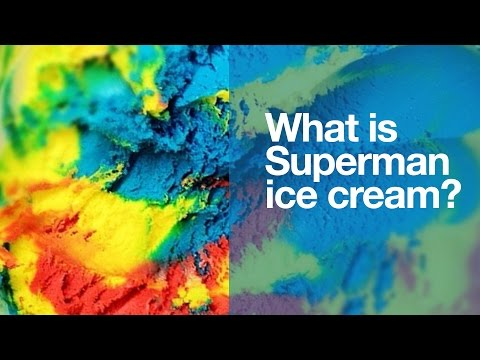 Superman Ice Cream: What is it?