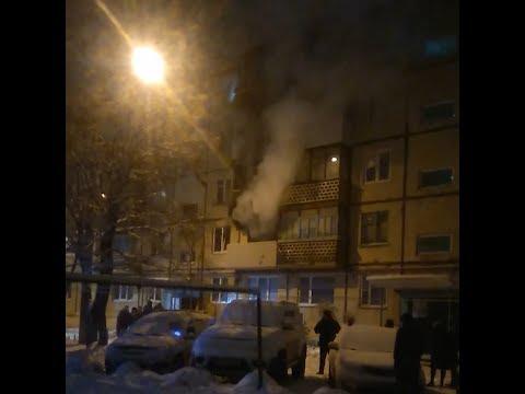 Ночью в Архангельске сгорела квартира | 29.RU