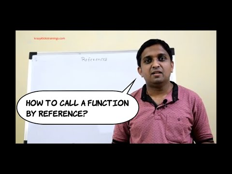 call by reference | C++