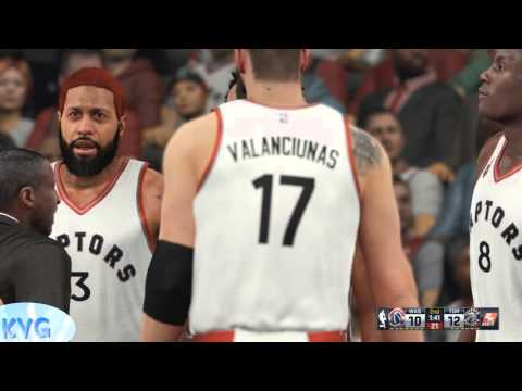 NBA 2K16 - Washington Wizards vs Toronto Raptors Gameplay (PC HD) [1080p60FPS]