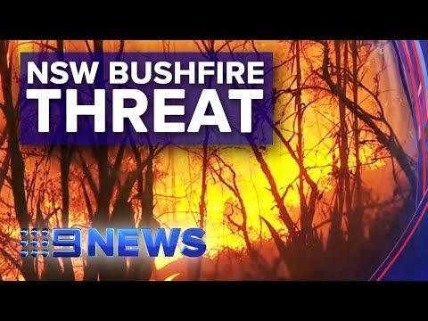 'Mega Blaze' Surrounds Sydney | Nine News Australia