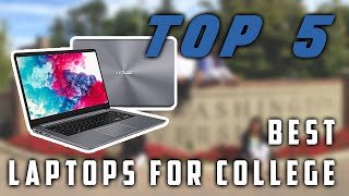 Best Laptops for College 2019 | Top 5 Review ✔️