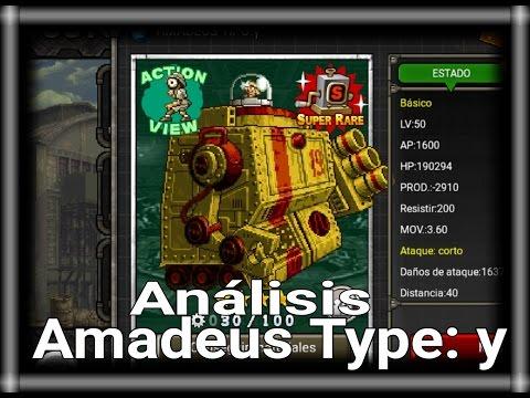 MSA - Amadeus Type: Y - Análisis de Unidades
