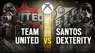 [BR] TEAM UNITED vs. SANTOS DEX   Play Day #7   EliteSix S02 (XBOX)