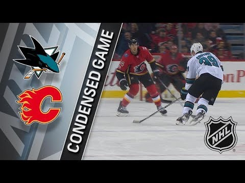 San Jose Sharks vs Calgary Flames – Dec. 14, 2017 | Game Highlights | NHL 2017/18. Обзор матча