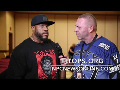 6-Time Mr.Olympia Phil Heath Interview From The IFBB Olympia Athletes Meeting