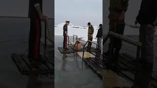 Станица Константиновская купания на крещения с. Васильевка Кыргызстан