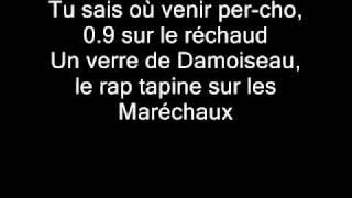 Booba - La vie en rouge (Lyrics)