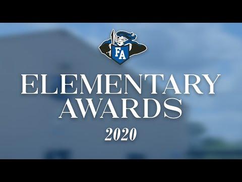 2020 Elementary Awards - Faith Academy of Bellville