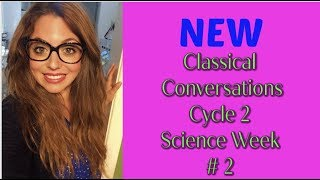 Classical Conversations NEW Cycle 2 Week 2 Science Experiment 2019