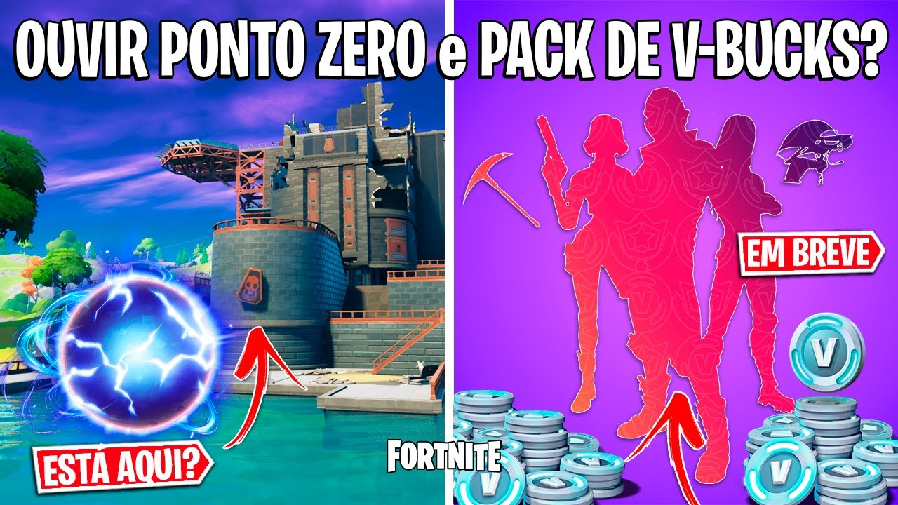 FORTNITE - NOVO TEASER, SONS DO EVENTO e LOCAL DO PONTO ZERO?