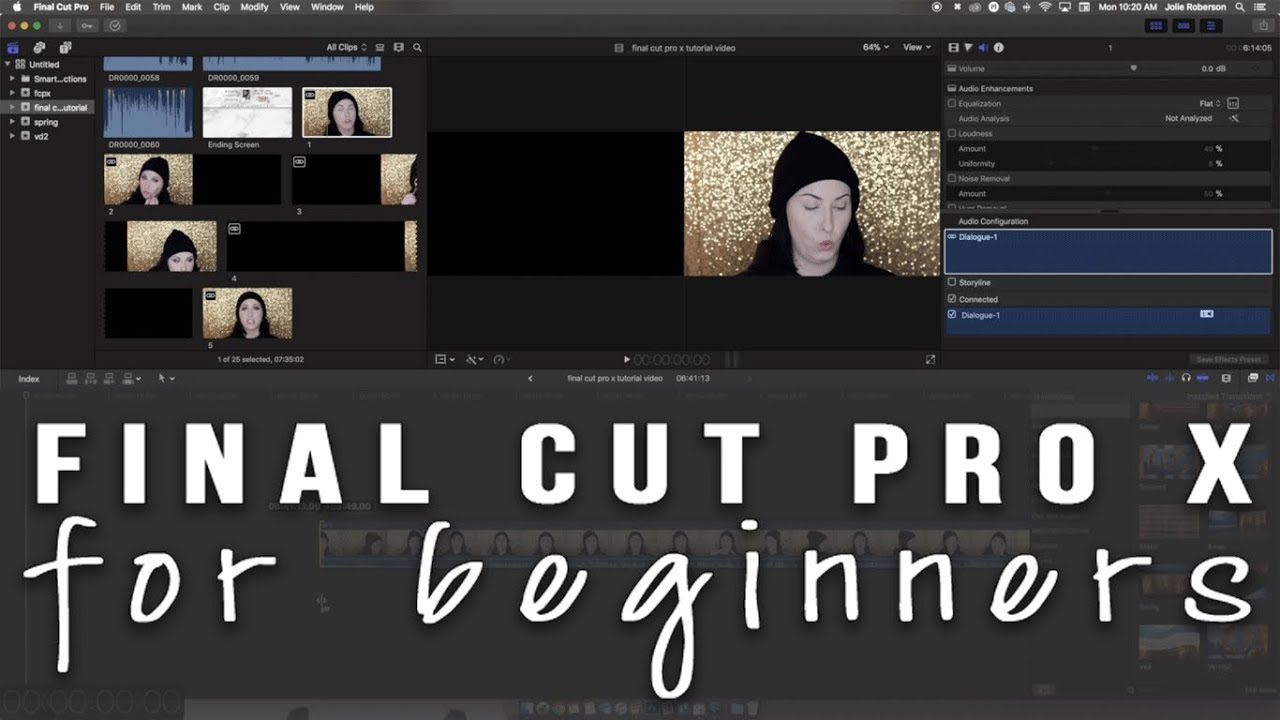 How to make youtube videos beginners tutorial for editing video how to make youtube videos beginners tutorial for editing video in final cut pro x baditri Image collections