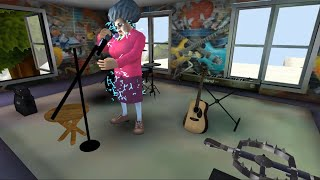 PenTV Is Excused From School And Entering Troll Teacher By Mic When She Sings - Scary Teacher 3D
