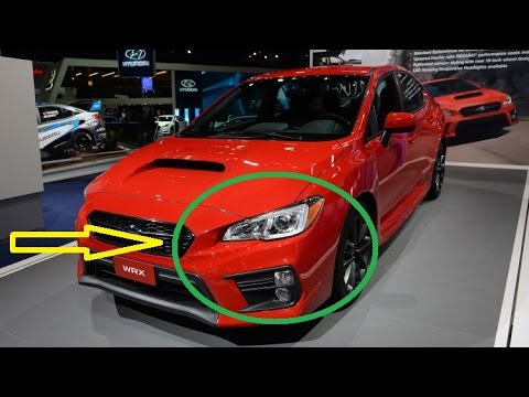 New Interior 2018 Subaru Wrx And Wrx Sti Pair Updated Looks With Performance Upgrades Youtube