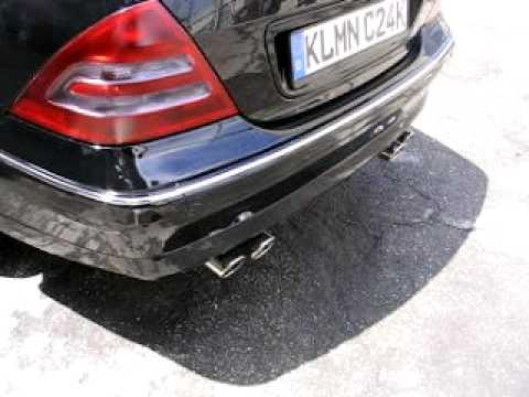 Weltmeister Exhaust W203 Mercedes Benz C240 Kleemann Supercharged C24k