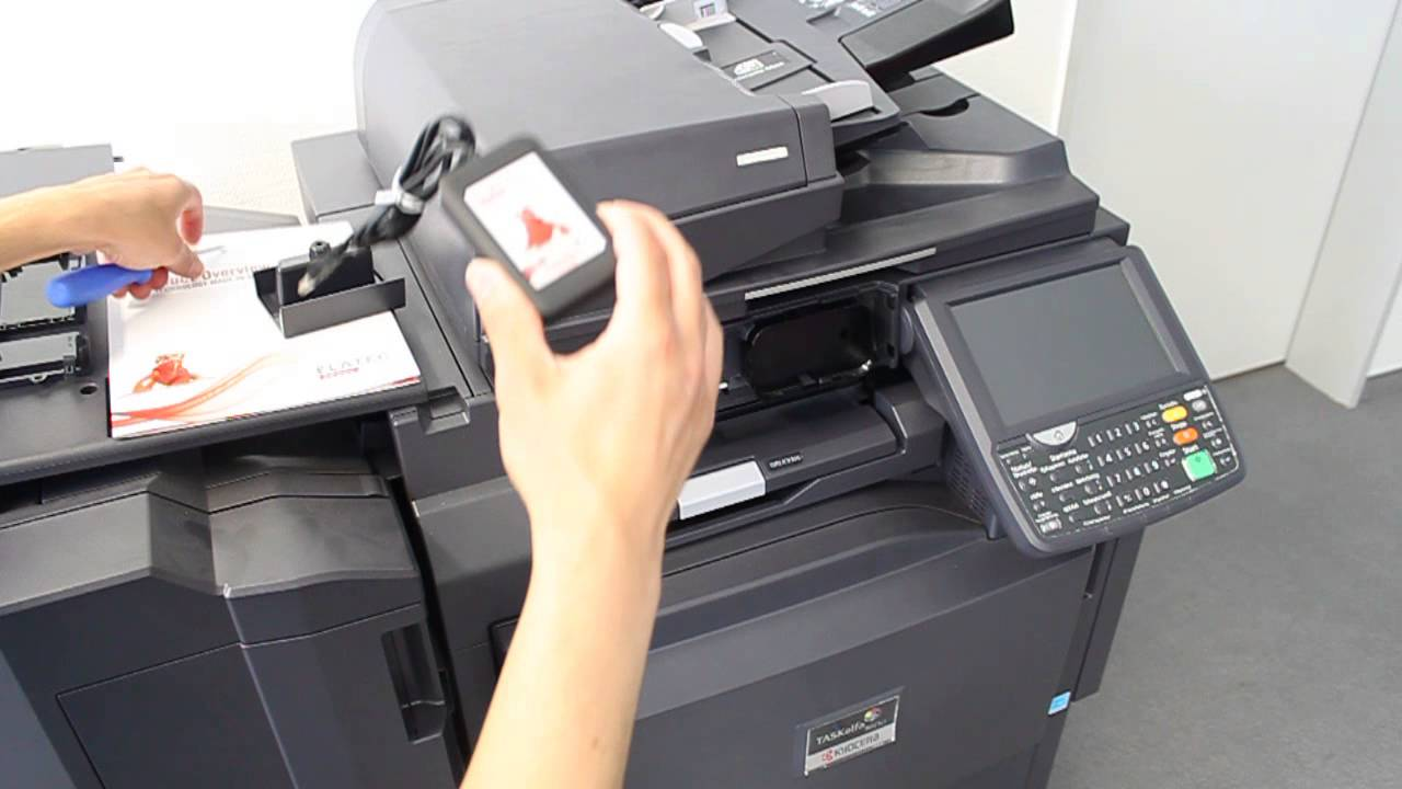How To Install Elatec Card Reader on KYOCERA MFP 22062015 by Elatec USA Inc