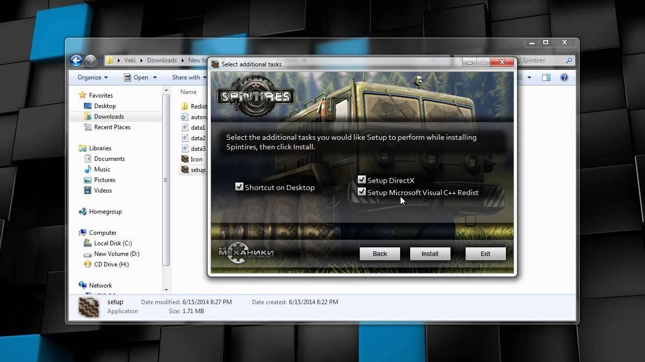 Spintires mudrunner free download | freegamesdl.