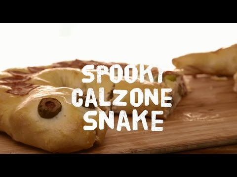 How to Make a Spooky Calzone Snake | Halloween Recipes | Allrecipes.com