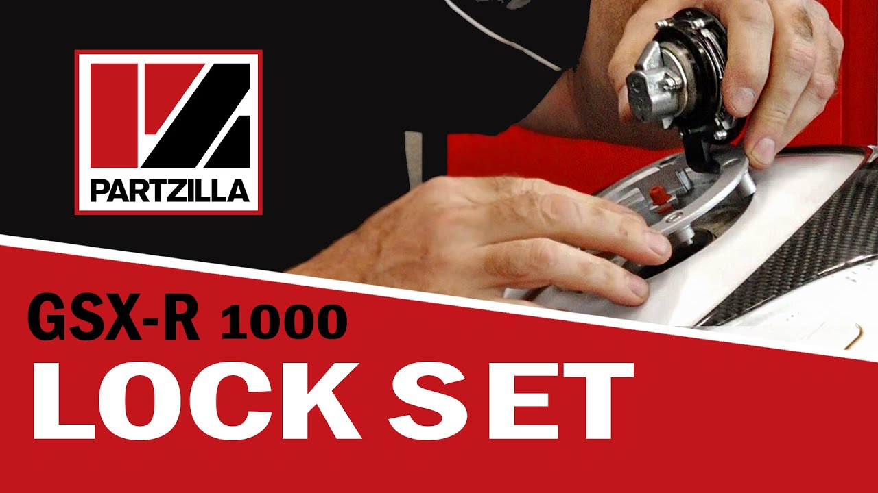 2001 Suzuki Gsxr 750 Wiring Diagram How Do You A Venn 1000 Lock Set Replacement Partzilla Com Youtube