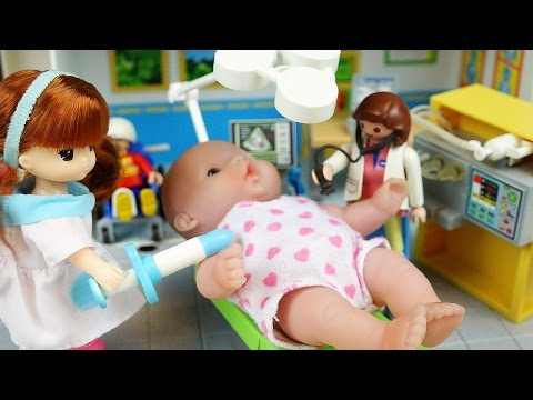 Thumbnail: Doctor and Baby doll hospital and dental clinic toys