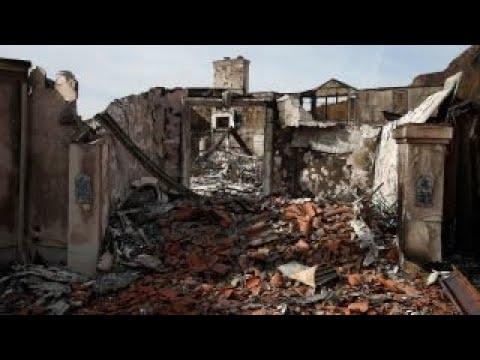 PG&E sued over California wildfires