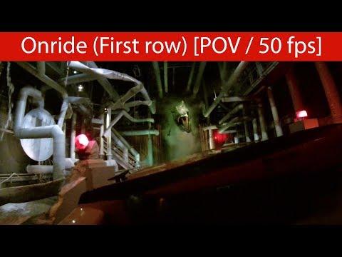 Universal Orlando Resort - Jurassic Park River Adventure - Onride [POV | 50fps]