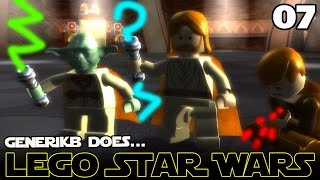 "LEGO STAR WARS The Complete Saga Ep 07 - ""Count Doo Doo vs Yoderp!!!"""
