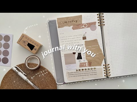 journal with you (let's journal together)