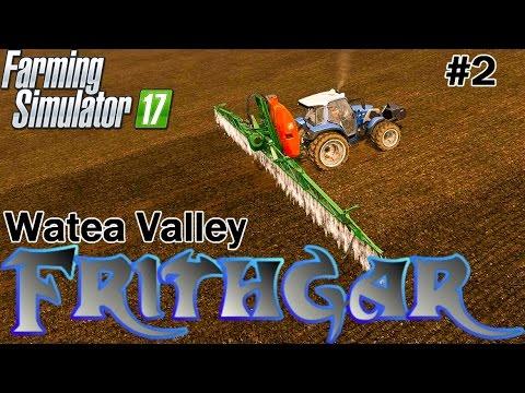 Let's Play Farming Simulator 2017, Watea Valley #2: Rear Wheel Steering Lindner!