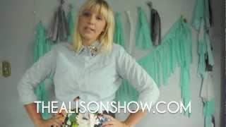 The Alison Show Craft and Style Video Roundup Week 1