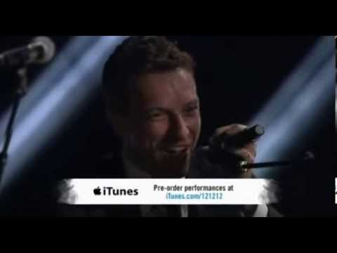"Chris Martin performs for the Sandy Relief Concert - ""12.12.12"""