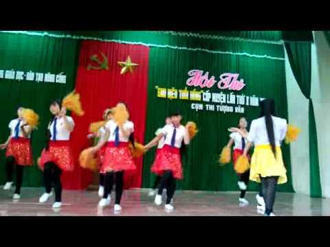 Bình- Mưa hè- HS THCS Tế Nông