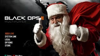 Santa Claus Plays Black Ops 2 (feat. Chuck Norris and Arnold)