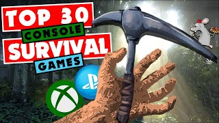 THE Best Survival Games On PS4/XBOX ONE - TOP 30 Survival Games To Play 2020