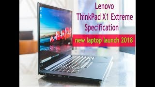 Lenovo ThinkPad X1 Extreme with full Specification han on