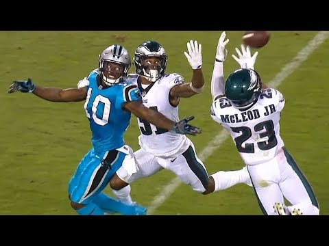 Philadelphia Eagles vs Carolina Panthers Full Game Highlights / NFL Week 6