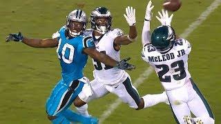 Philadelphia Eagles vs Carolina Panthers Full Game Highlights / NFL Week 6 2017 Video