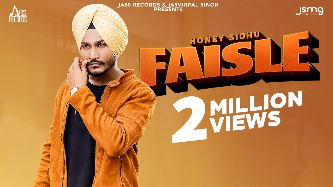Faisle | (Official Video) | Honey Sidhu | Mr. Rubal | New Punjabi Songs 2020 | Jass Records
