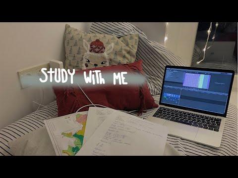 Study With Me №28 | продуктивные и мотивация на учёбу