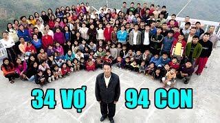 Người Đàn Ông Có 39 Vợ Và 94 Đứa Con Sống Chung 1 Nhà Mà Vẫn Hòa Thuận