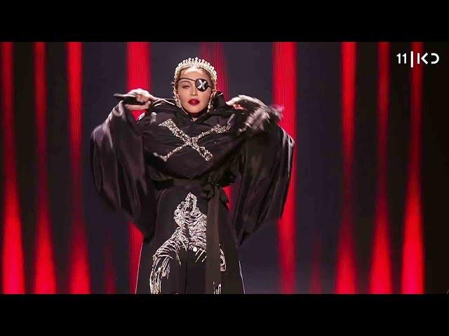 זיופים ומסר פוליטי: הפאדיחות של מדונה באירוויזיון