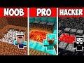 Minecraft NOOB vs PRO vs HACKER : SECRET HOUSE TRAP in Minecraft ! AVM SHORTS Animation