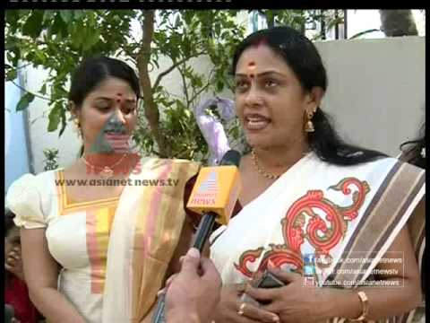 TV/Film Actress Seema G Nair and Saranya in Attukal Ponkala 2013