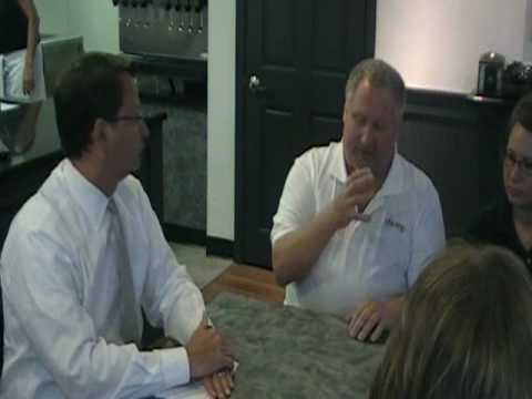 Congressman Gary Peters Listens to Small Business Owners in Downtown Rochester