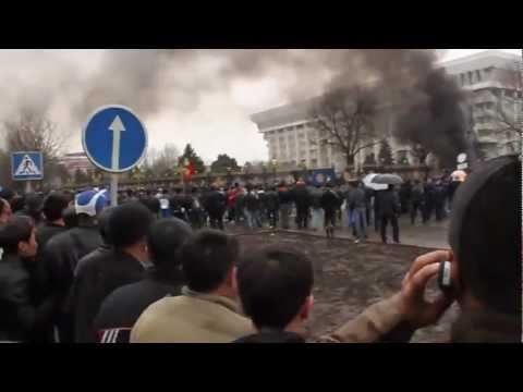 7 апреля 2010 Митинг на площади Киргизии