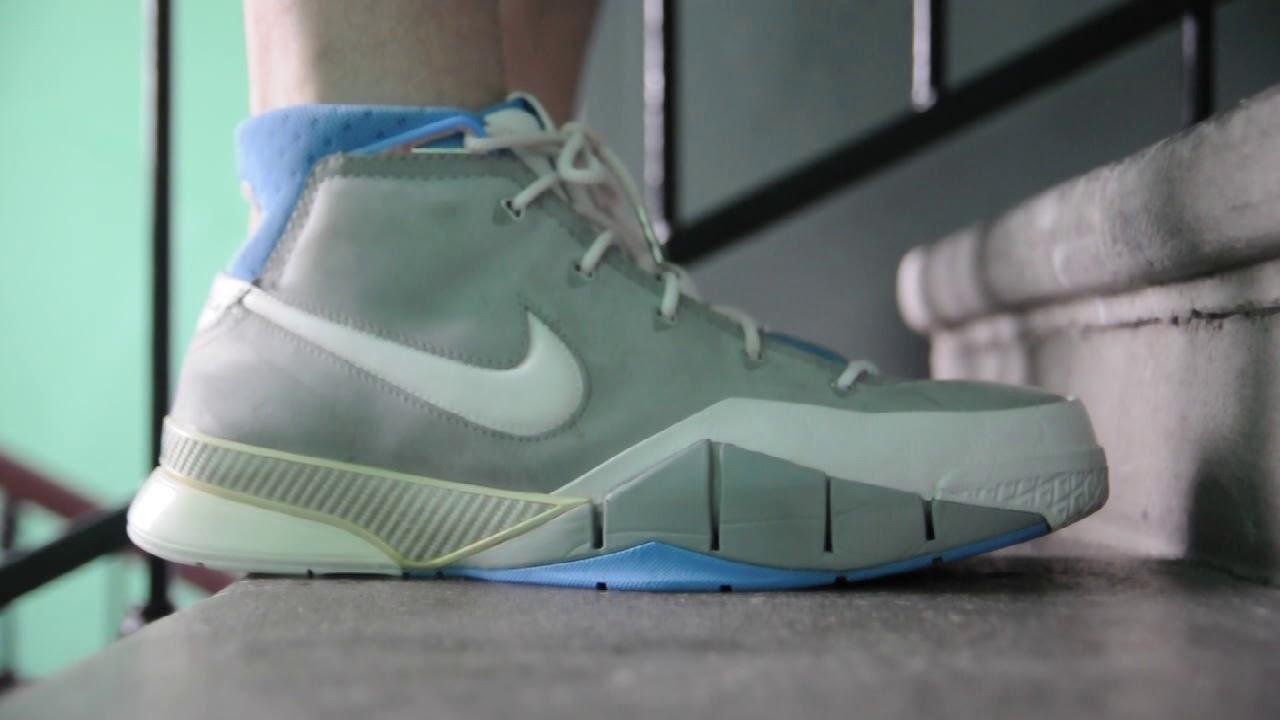 21dae6be2530 2006 Nike Zoom Kobe 1   MPLS   on feet womft - YouTube