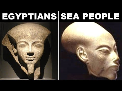 Who Were The Mysterious Sea People That Wiped Out Ancient Egypt?
